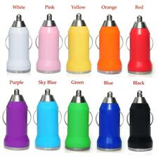 Colors Car Charger for Apple iPhone & Samsung Galaxy S 3 4 5 6 7 Note 3 4 H