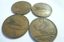 Irish Eire Ireland One Penny coins - choose your year - 1928 to 1968