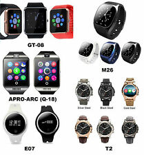 New Models 2018 Bluetooth Smart Watch Phone Wrist watch for Android and iOS