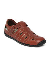 Hush Puppies Brand Mens Brown Casual Leather Sandal 4906