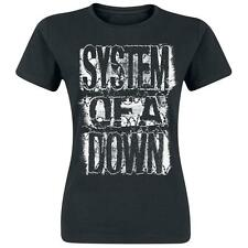 OFFICIAL System Of A Down - Shattered WOMEN T-Shirt Heavy Metal Rock