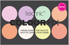 Technic Colour Fix Blush Bronze Concealer Correct & Cream Contour Powder Palette