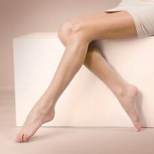 Silky Naturals Open Toe Tights 10 Denier Tights for peep toe shoes Illusion Nude