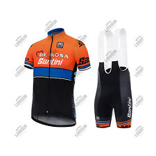COMPLETO SANTINI TEAM DE ROSA 2017 ESTIVO SUMMER CICLISMO CYCLING SET KIT