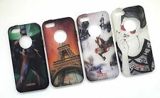 APPLE IPHONE 5G/5S IMPORTED PREMIUM PRINTED SILICON BACK CASE COVER.