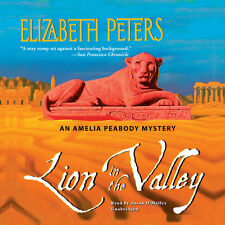 Lion in the Valley by Elizabeth Peters CD 1999 Unabridged