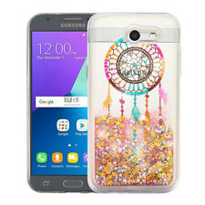 for Samsung GALAXY S8 /S8 PLUS Dreamcatch Bling Hybrid Liquid Glitter case
