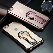 Comfortable Flexible Soft Electroplate TPU Case Cover For iPhone 6 6S 7 Plu