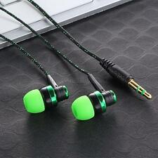 Stereo In-Ear Earphone Headphone Headset Earbuds 3.5mm For iPhone Samsung H