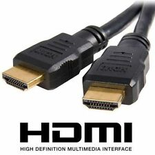 Premium Gold HDMI to Male 1080p LCD LED HDTV Video Lead Cable 3D 1m-10m v1.4