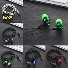 Stereo In-Ear Earphone Headphone Headset Earbuds 3.5mm For iPhone Samsung L