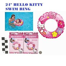 """CHEAPEST NEW FOR KIDS CHILDREN 24"""" HELLO KITTY SWIM RING  QUICK DISPATCHED"""