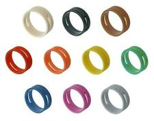 4 (FOUR) x Neutrik XXR-* Neutrik XLR Coloured Rings - XX Identification Rings