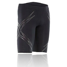 2XU Lock Mens Black Compression Fitness Training Shorts Sports Pants Bottoms