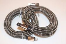 Gold 3M 10 ft extra long thick USB data Cable Charging cord For iphone 7 Pl