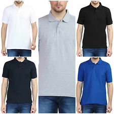 Mens Plain Cotton Multi Colour T-Shirt Top Class Cloting New