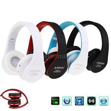 Foldable Wireless Bluetooth Headset Stereo Headphone with Mic for iPhone PC