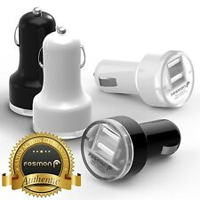 2 Port Dual USB Bullet Adapter Car Charger for Apple iPhone 6s 6 Plus 5s 5c