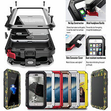 Shockproof Aluminum Gorilla Glass Metal Case Cover for iPhone 7 5S 6 & 6S P