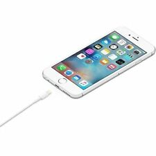 iPhone 7 6 6s 5 5s SE Wall Charger Adapter USB Lightning Cable 3 FT