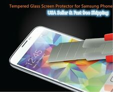 Protective Tempered Glass Screen Protectors Film For  Samsung Ship from USA