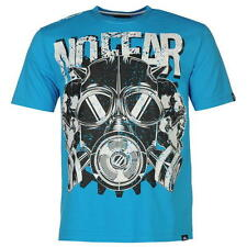 No Fear Mens Moto Graphic T-Shirt Gas Mask New With Tags