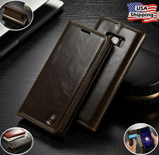 Leather Wallet Card Holder Flip Case Stand Cover For Samsung Galaxy S8 / S8