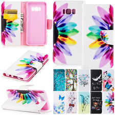 Magnetic Flip Wallet Pattern Leather Stand Case For Samsung Galaxy Note 5 4