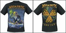 OFFICIAL Megadeth - Rust In Peace (Anniversary)  T-shirt Rock Metal Metallica