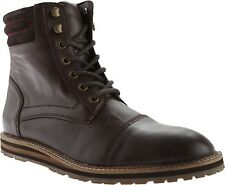 TOMMY HILFIGER ANGELODBRLL ANGELO Mn's (M) Coffee Leather Casual Boots