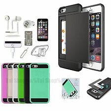 Pocket Case Cover Earphones Screen Protector Accessory Pack For iPhone 7 7