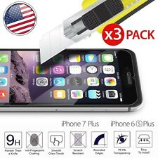 3x Screen Protector Tempered Glass 2.5D Protective Guard For iPhone 6S 7 Pl