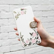 Glitter Leather Wallet Cover for iPhone 6 7 Samsung S6 7 8 Flip Card Slot Case