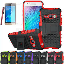 Armor Shockproof Hybrid Stand Phone Case Cover For Samsung Galaxy Express 3