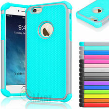 """Rugged Rubber Hard Shockproof Cover Case for iPhone 6 plus 6s Plus 5.5"""" Plu"""