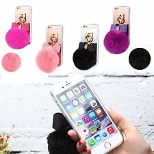Soft TPU Silicone Girly Fur Pom Pom Ball Case Cover For Apple iPhone 7 4.7