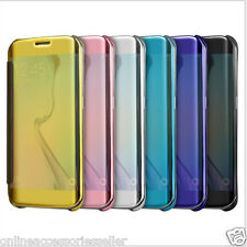 FOR SAMSUNG GALAXY Smart Clear View Flip Flap Cover Case For ALL SAMSUNG MODELS