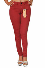 PANTALONE DONNA BORDO' COTONE SILVIAN HEACH LOOK STILE MODA  FASHION