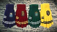 Harry Potter Hogwarts GUANTES INVIERNO Gryffindor Hufflepuff Slytherin Ravenclaw