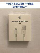 Genuine Apple iPhone 7 7S 6 6S Plus 5C Lightning USB Cable Charger
