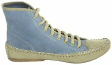 Cinque Shoes High-Top Sneakers blau Leder Wildleder