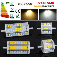 Dimmable R7S LED 10W 15W 78mm 118mm Lampe 5730SMD Ampoule Security Flood Lumière