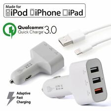 Apple Certified Lightning Car Charger for iPhone 6 6s 6s Plus 5s 5C Quick C