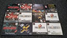 Playstation 1/PS1 Big Box Games Make Your Own Bundle/Joblot Tested And Working