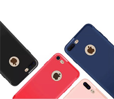 iPhone 7 Luxury Ultra Thin Slim Soft Silicone Matte Shockproof Back Case Co