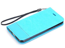 Luxury Fashion Deluxe Leather Wallet Flip Case Cover For Apple iphone 6/6S