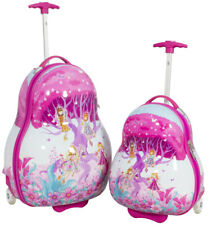 Kinder Rucksack Koffer Hartschalen Kindertrolley  Kinderkofferset 2 TLG