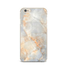 Gold Granit Cracked Stone Marble Silicone Rubber Gel Case For IPhone 4S 5S