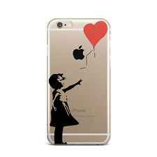 Love Art Design Ultra Thin Rubber Gel Silicone Case For Apple iPhone 5 6 7
