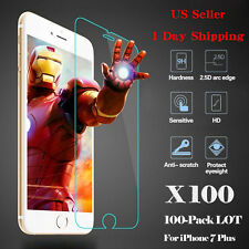 Wholesale Lot Tempered Glass Screen Protector for iPhone 7/7 Plus Guard Shi